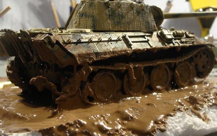 работа моделью в грязи